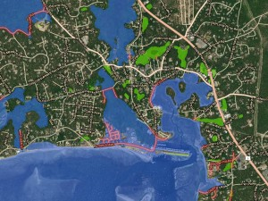 Cape Cod Sea Level Rise Viewer